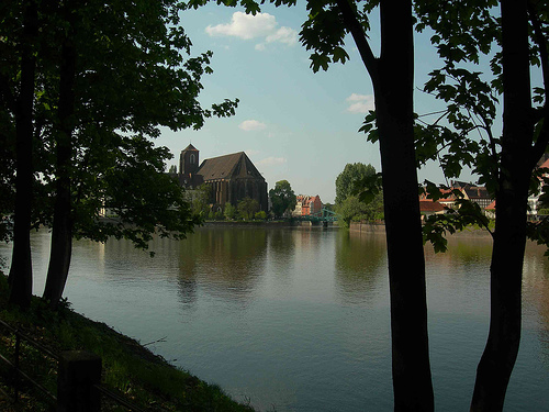 Wrocław   urokliwe miasto